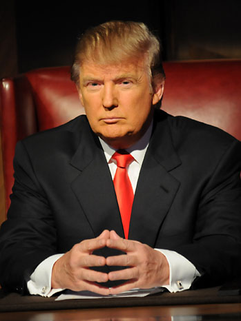 THE CELEBRITY APPRENTICE -- Episode 912 -- Pictured: Donald Trump -- Photo by: Ali Goldstein/NBC